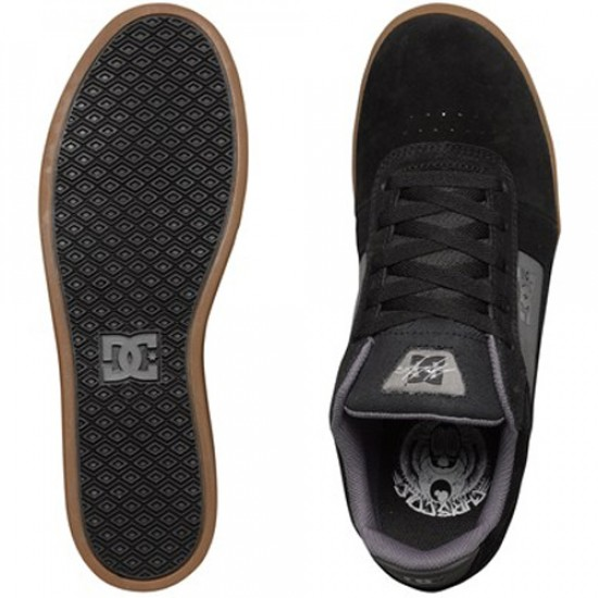 DC Cole Pro Shoes - Black/Grey/Black - 6.0