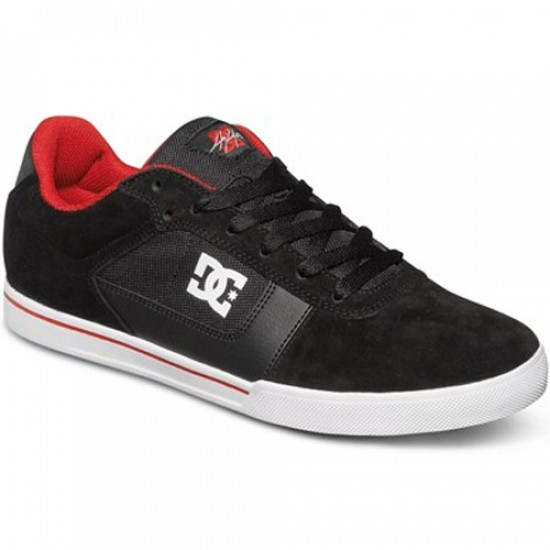 DC Cole Pro Shoes - Black/Red - 11.5
