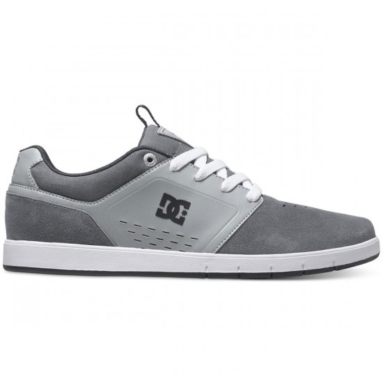 DC Cole Signature Shoes - Grey - 13.0