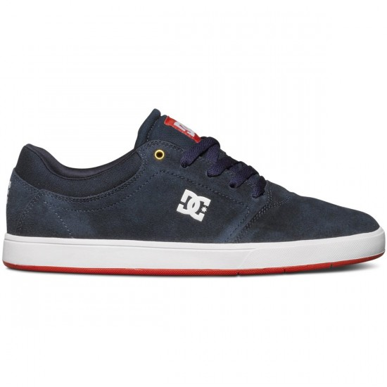 DC Crisis Shoes - Navy/Red - 7.0