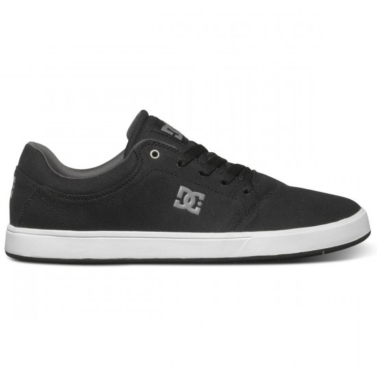 DC Crisis TX Shoes - Black/Grey - 7.0