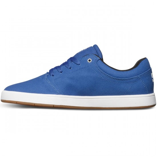 DC Crisis TX Shoes - Blue - 8.5