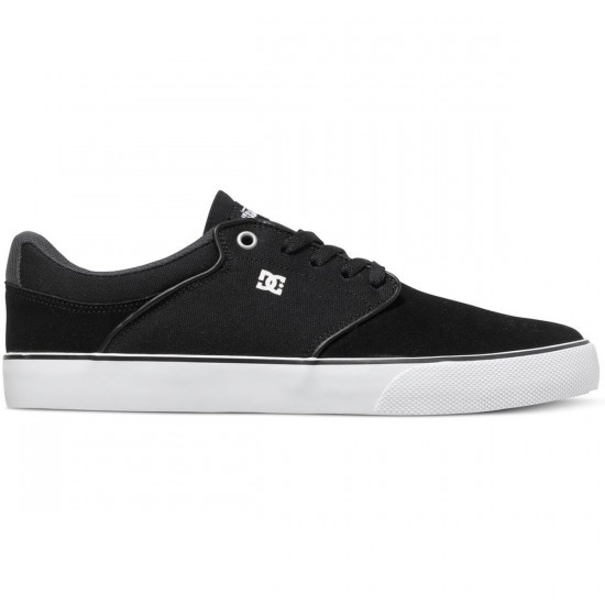 DC Mikey Taylor Vulc Shoes - Black/White/Grey - 12.5