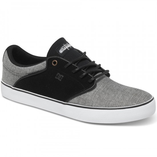 DC Mikey Taylor Vulc TX SE Shoes - Grey/Grey/Black - 13.0