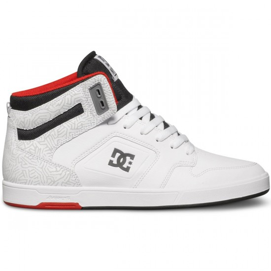 DC Nyjah High Shoes - White - 11.0