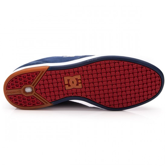 DC Nyjah Shoes - Navy/Camel - 10.0