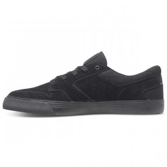 DC Nyjah Vulc Shoes - Black/Black - 13.0
