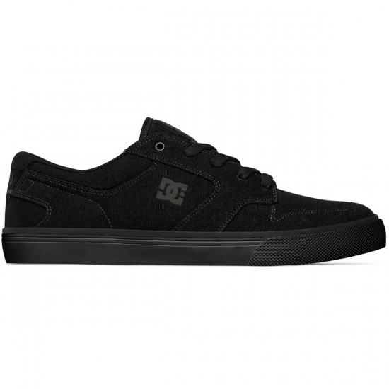 DC Nyjah Vulc TX Shoes - Black/Black/Black - 11.5