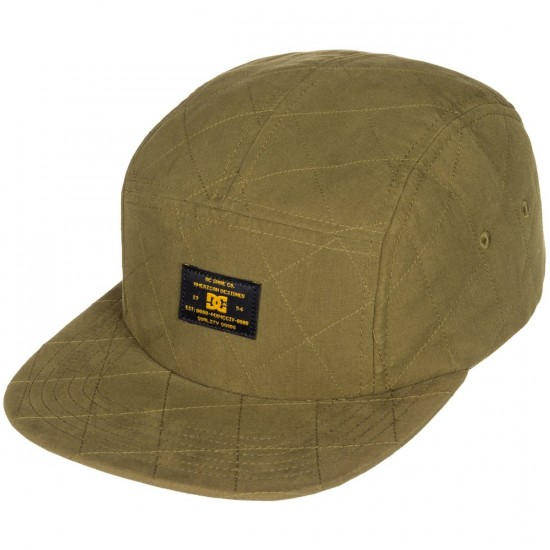 DC Quilts Hat - Military Olive