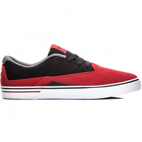 DC Sultan S Shoes - Red/Black - 6.0