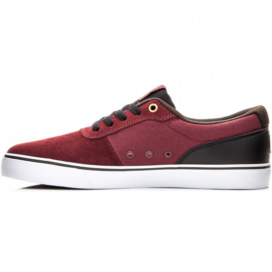 DC Switch S Shoes - Burgundy - 6.0
