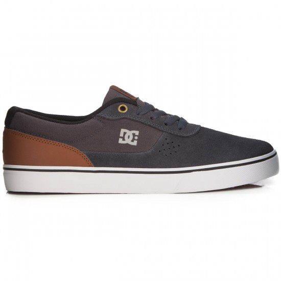 DC Switch Shoes - Silver - 14.0