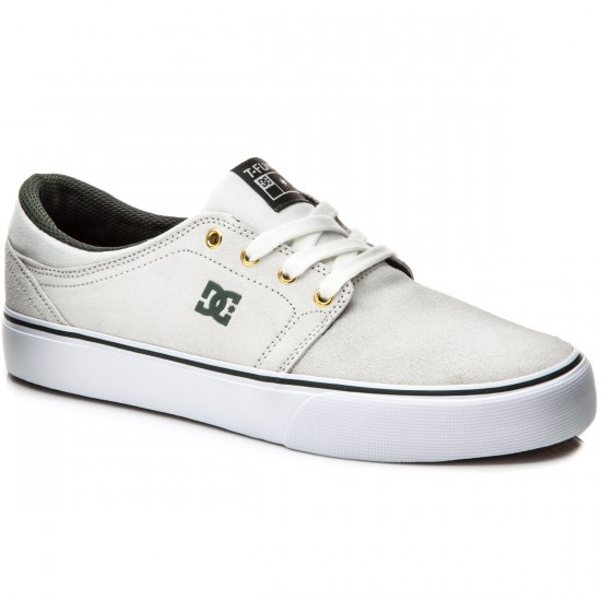 DC Trase S SE Tristan Shoes - White/Green - 6.0