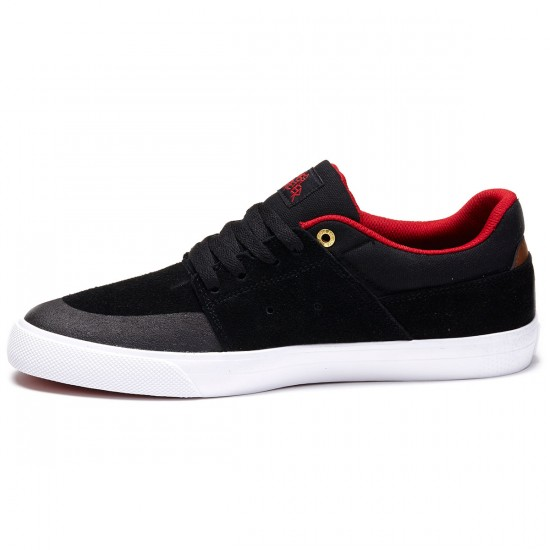 DC Wes Kremer Shoes - Black/Athletic Red/White - 8.5