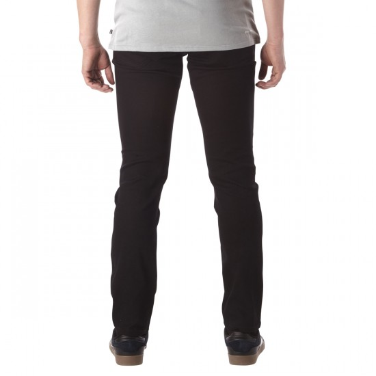 DC Work Straight Chino Pants - Black - 30 - 32