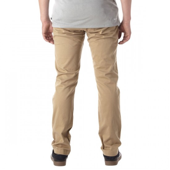 DC Work Straight Chino Pants - Khaki - 30 - 32