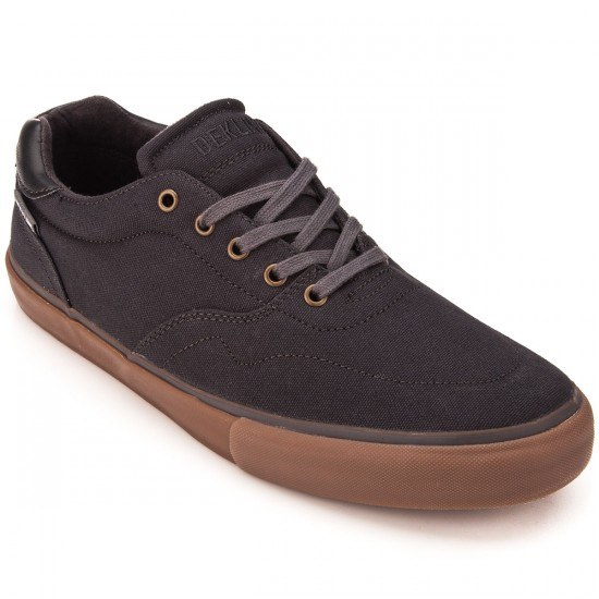 Dekline Wayland Shoes - Pewter/Gum Canvas - 10.0