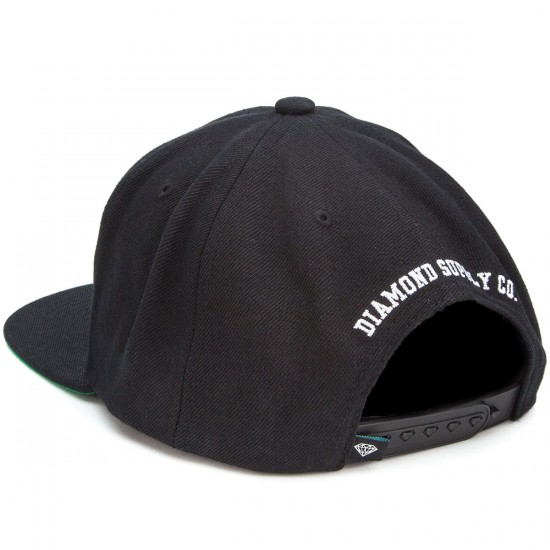 Diamond Supply Co. Brilliant Snapback Hat - Black/Grey