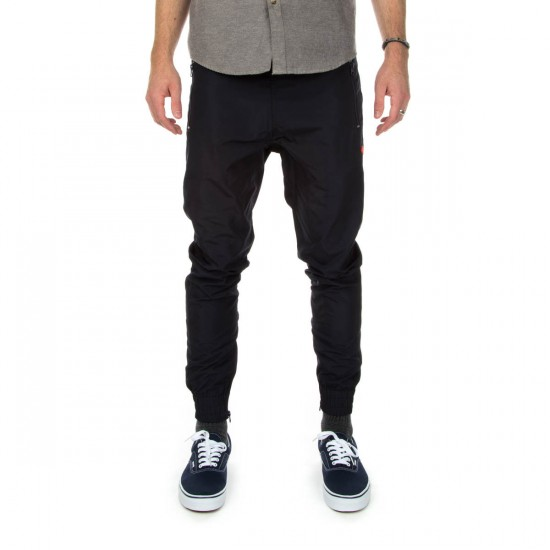 Diamond Supply Co. Diamond Warm Up Pants - Navy - LG