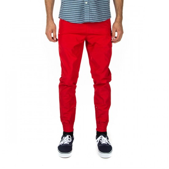 Diamond Supply Co. Diamond Warm Up Pants - Red - LG