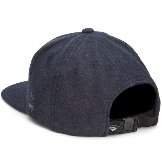 Diamond Supply Co. Dtc Clipback Hat - Heather Navy