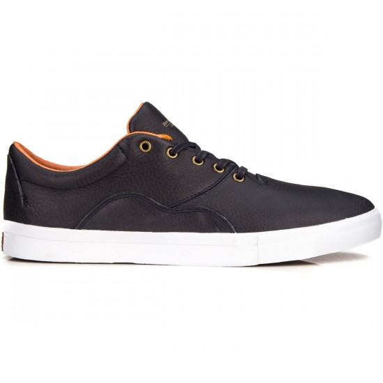 Diamond Supply Co. Lafayette Shoes - Navy/Tumbled Leather - 10.0