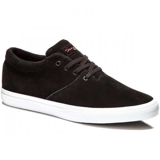 Diamond Supply Co. Torey Shoes - Black Suede - 8.0