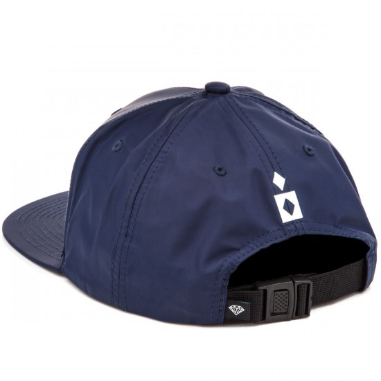Diamond Supply Co. Marquise Clipback Hat - Navy