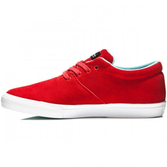 Diamond Supply Co. Torey Shoes - Red Suede - 9.5