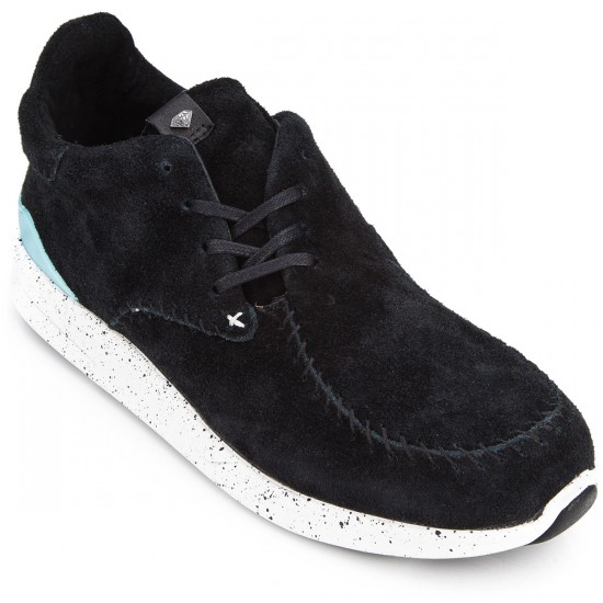 Diamond Supply Co. Trek Low Shoes - Black Suede - 10.0