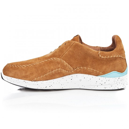 Diamond Supply Co. Trek Low Shoes - Light Brown/Suede - 10.0