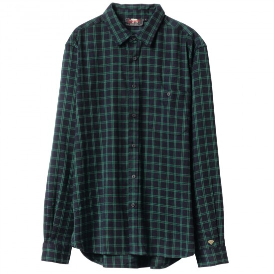 Diamond Supply Co. Walken Flannel T-Shirt - Green