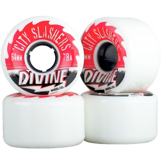 Divine City Slashers Longboard Wheels 64mm