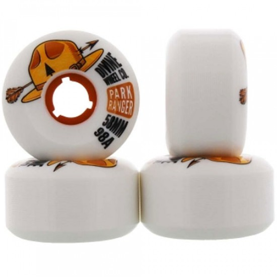 Divine Park Ranger Skateboard Wheels - 58mm 98a