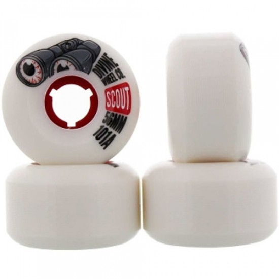 Divine Scout Skateboard Wheels - 56mm 101a