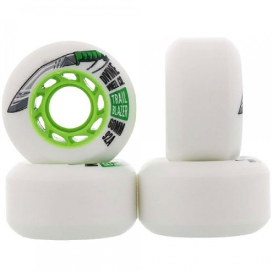 Divine Trail Blazer Skateboard Wheels - 60mm 92a