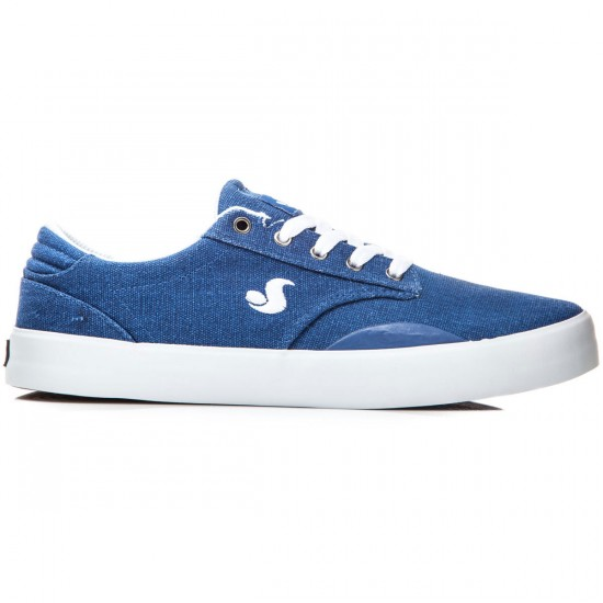 DVS Daewon 14 Shoes - Blue Canvas - 8.0