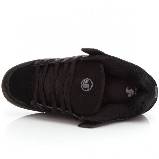 DVS Militia  Shoes - Black/Gunny/Nubuck - 10.0