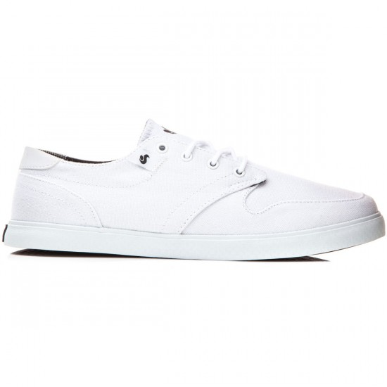 DVS Whitmore Shoes - White/Canvas - 8.0