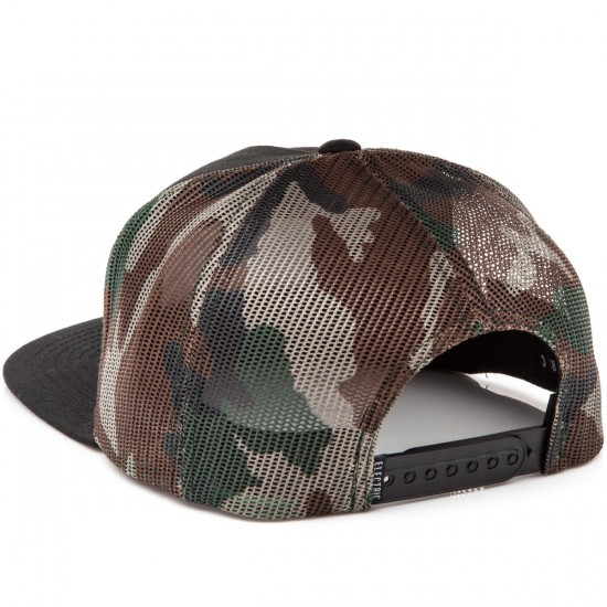 Electric Badge Hat - Black