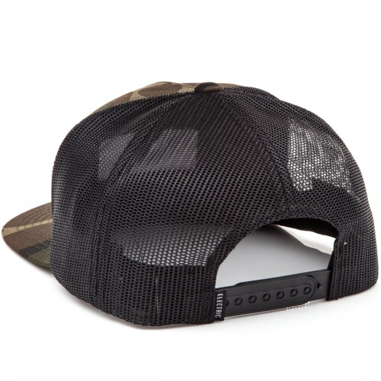 Electric Badge Hat - Camo