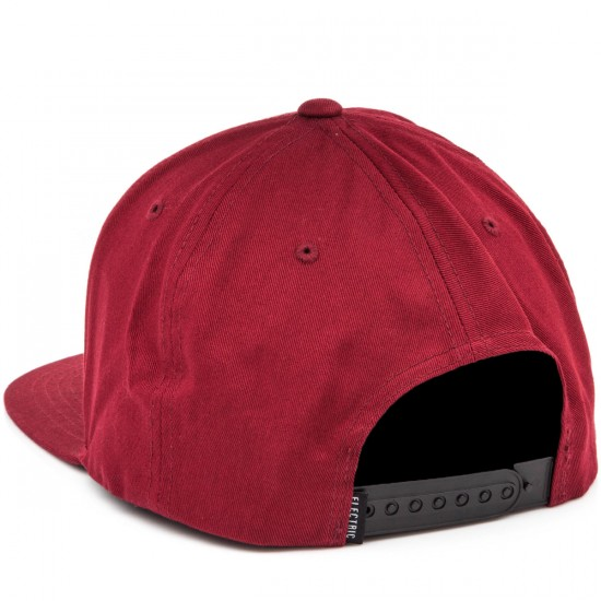 Electric Identity Corp Hat - Burgundy