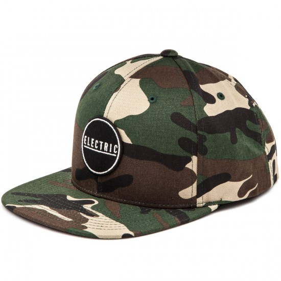 Electric Rubber Stamp Hat - Camo