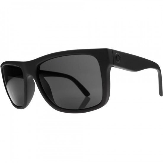 Electric Swing Arm Sunglasses - Matte Black/Grey