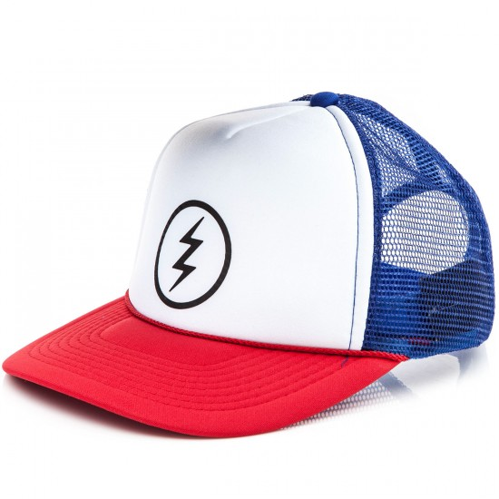 Electric Volt Trucker Hat - Red
