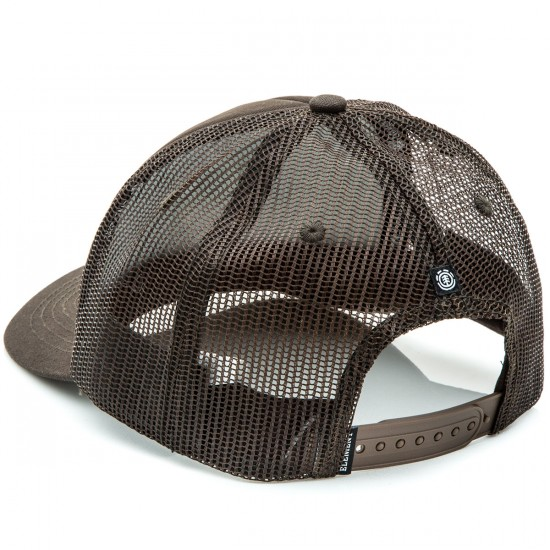 Element Icon Mesh Hat - Brown Bear