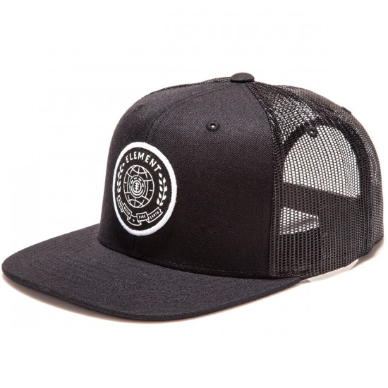 Element Worldwide Hat - Flint Black