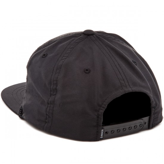 Emerica E.S.F. Snapback Hat - Black
