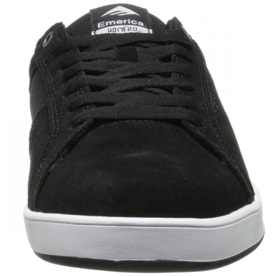 Emerica Leo Dos Shoes - Black/White - 13.0