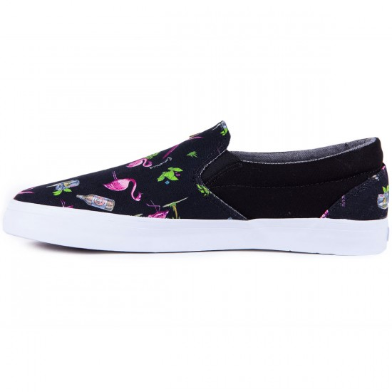 Emerica Memphis Shoes - Black/White/Flamingo - 8.0
